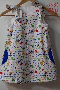 Mickey dress 3a