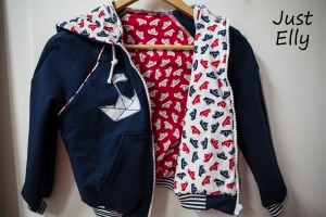 DIY Hooded sweat jacket 05