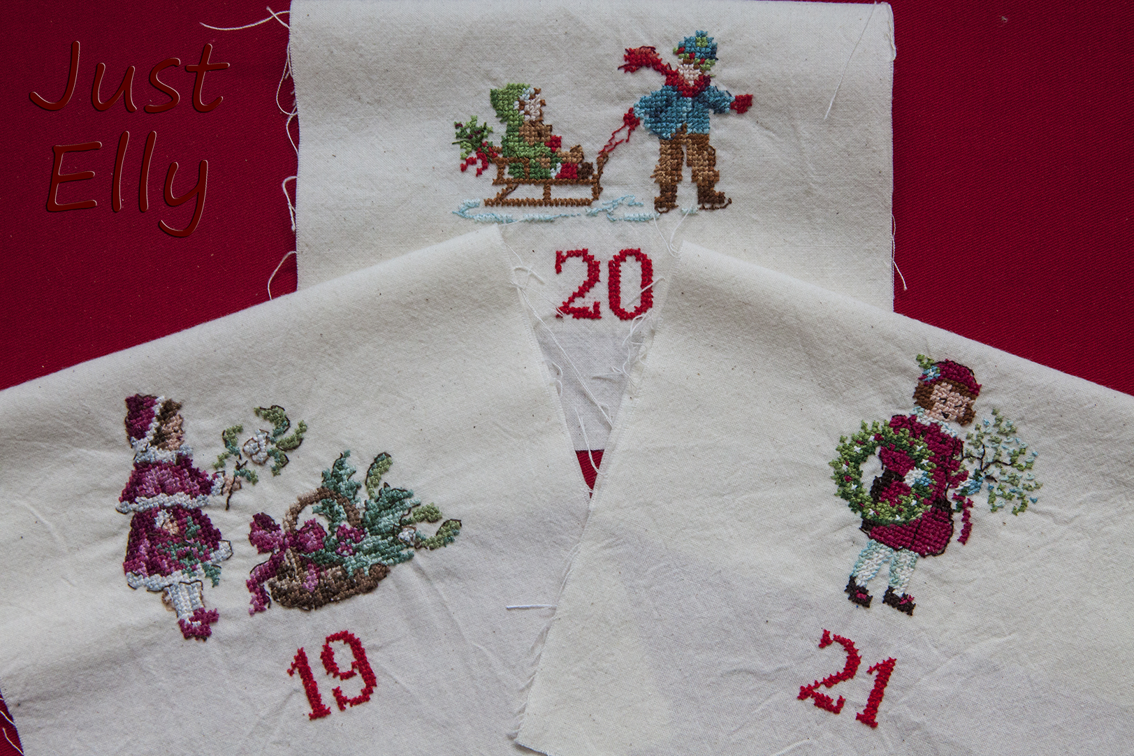 Cross stitching Dec 19-21
