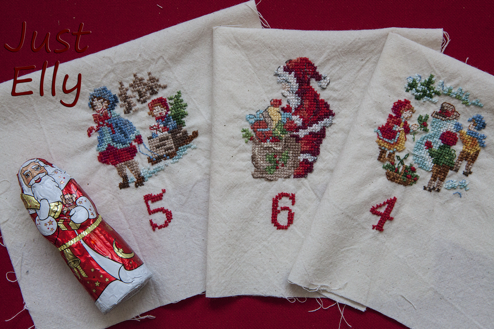 Cross stitching Dec 4-6