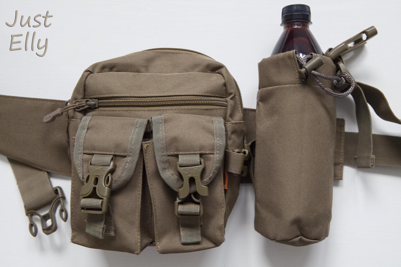 DIY Bottleholder for Belt bag 06